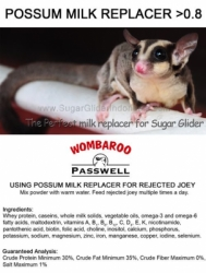 Label Wombaroo Milk Replacer no WM wm  large